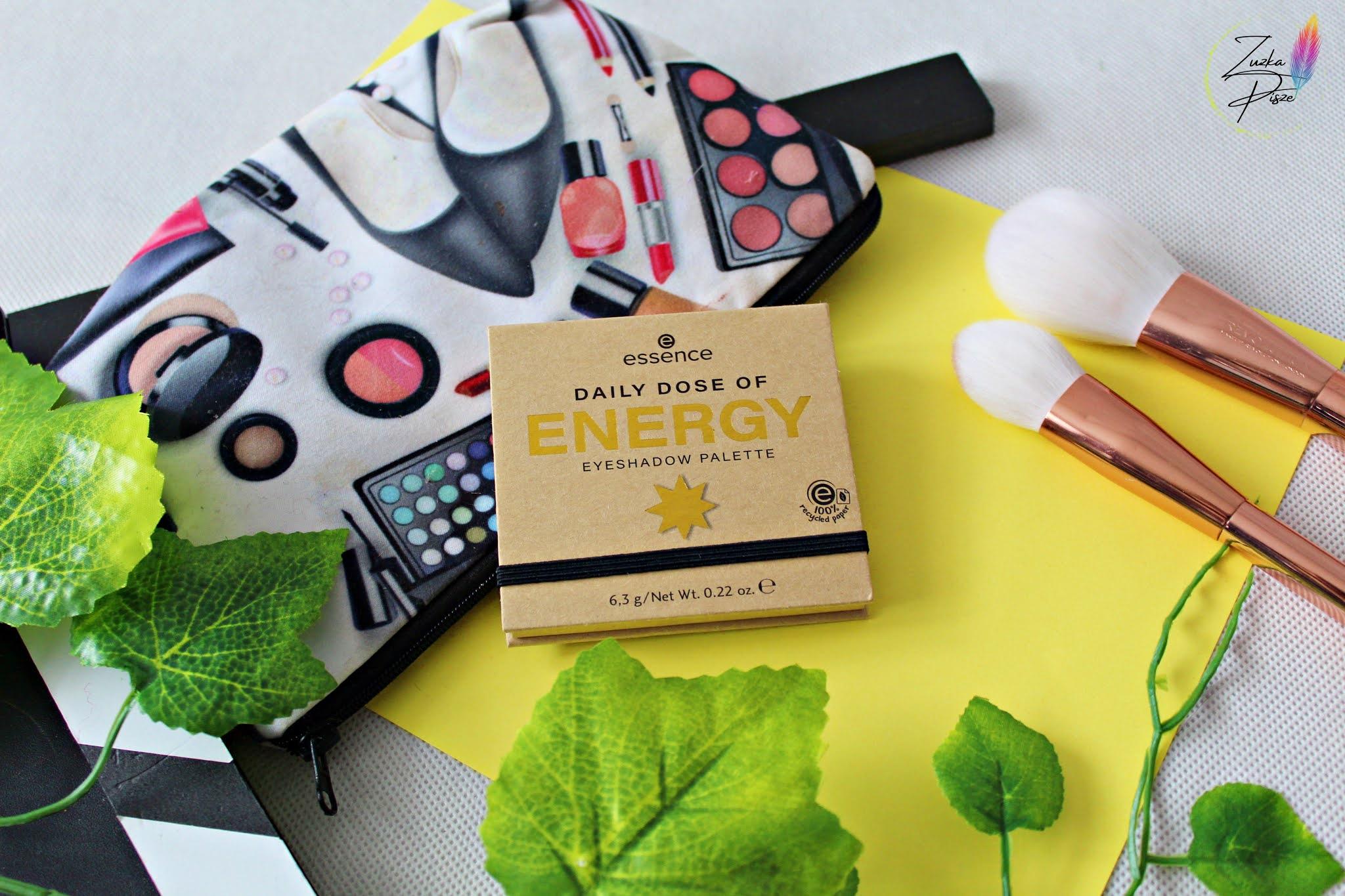 Essence Daily Dose of ENERGY - paleta cieni do powiek