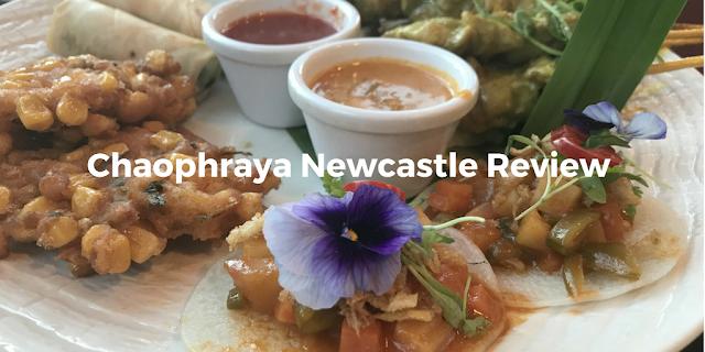 Chaophraya thai starter platter