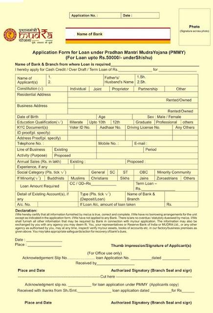 प्रधानमंत्री मुद्रा लोन योजना, Mudra Loan online apply, How to Apply for Mudra Loan,