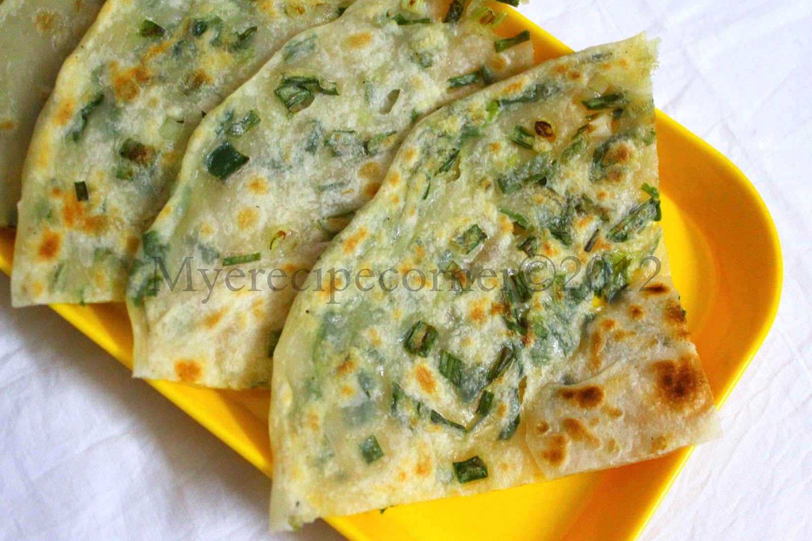 Mye's Kitchen: Cong You Bing( Chinese Scallion Pancake Recipe