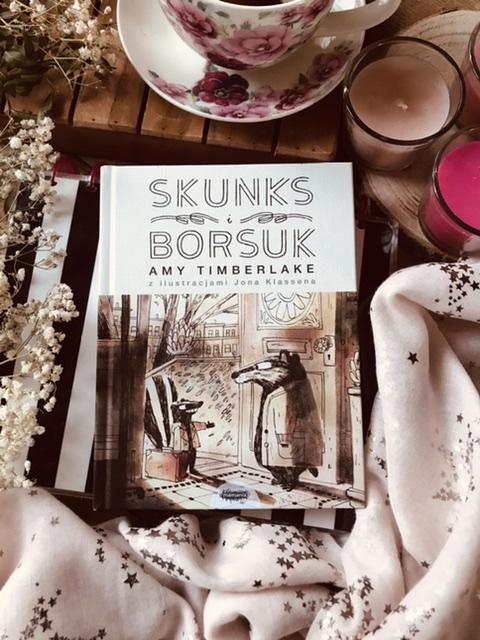 Amy Timberlake, Skunks i Borsuk