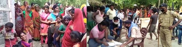 हरलाखी के हिसार में तालाब में डूबने से दो बच्ची की मौत