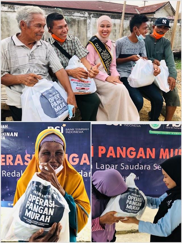 Ringankan Beban Kaum Dhuafa, ACT Prabumulih Gelar Operasi Pangan Murah