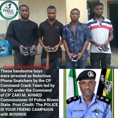 p - My charms failed me -Suspected armed robber confess after being arrested in Rivers State