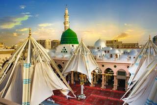 خلفيات المسجد النبوي