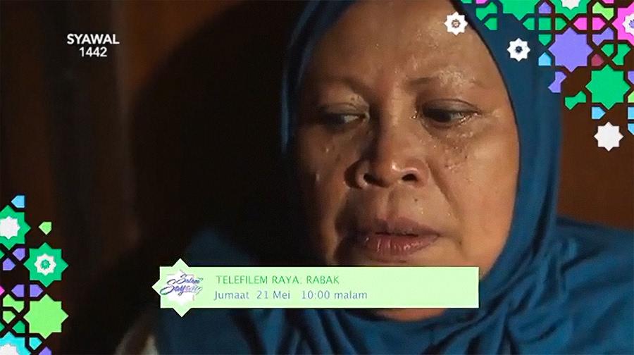 Telemovie Rabak Lakonan Adi Putra, Khatijah Tan,Izzue Islam 1