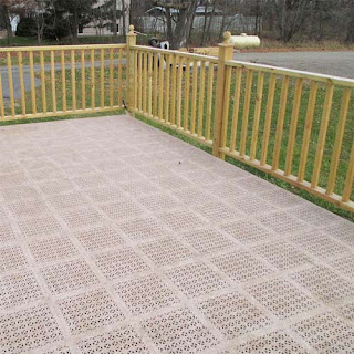 Greatmats staylock perforated plastic deck tile
