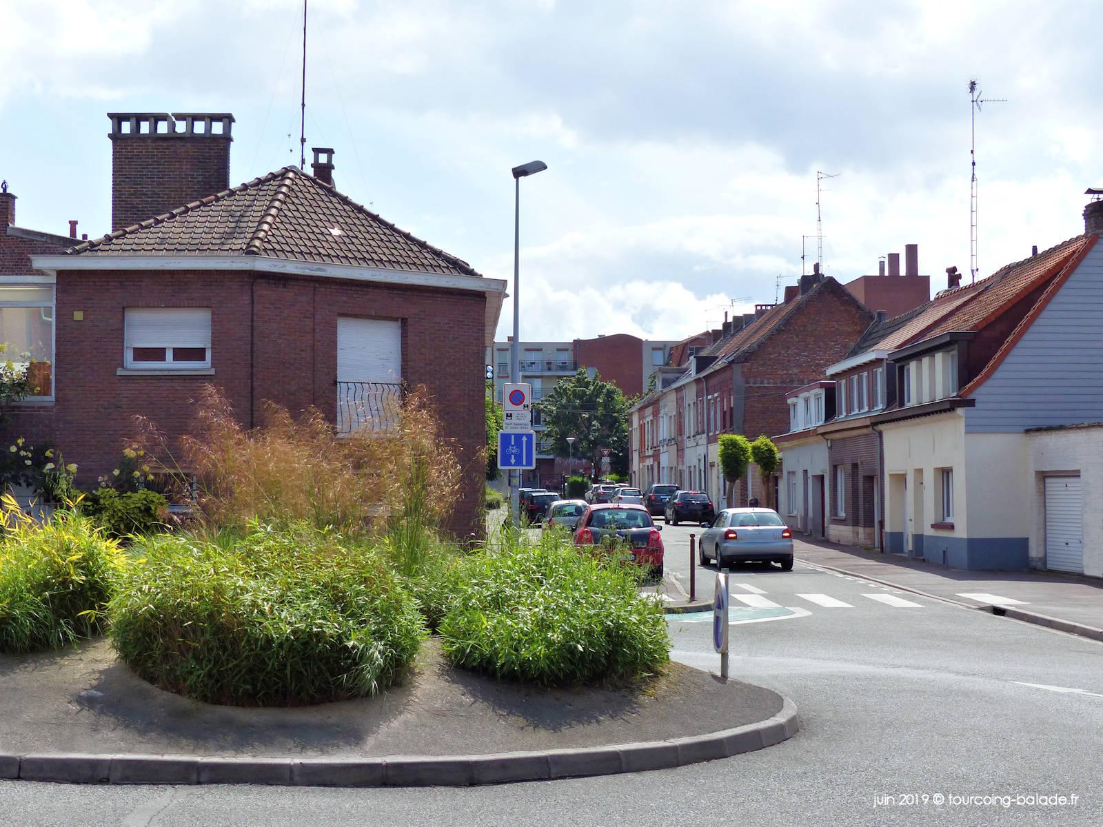 Rond Point, Rue Niot et Ursulines, Tourcoing