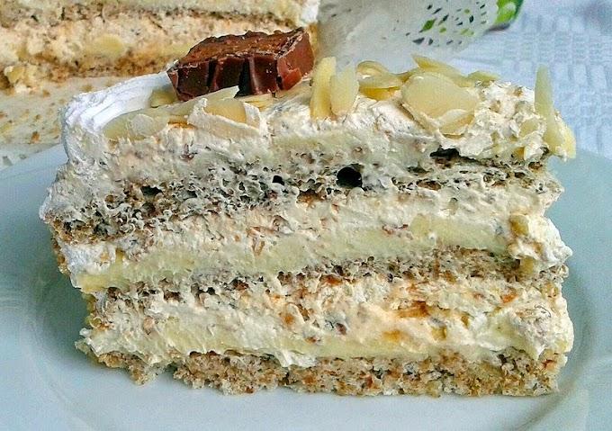 TORTA BIJELI EGIPAT - NAJLJEPŠA TORTA NA SVIJETU!!