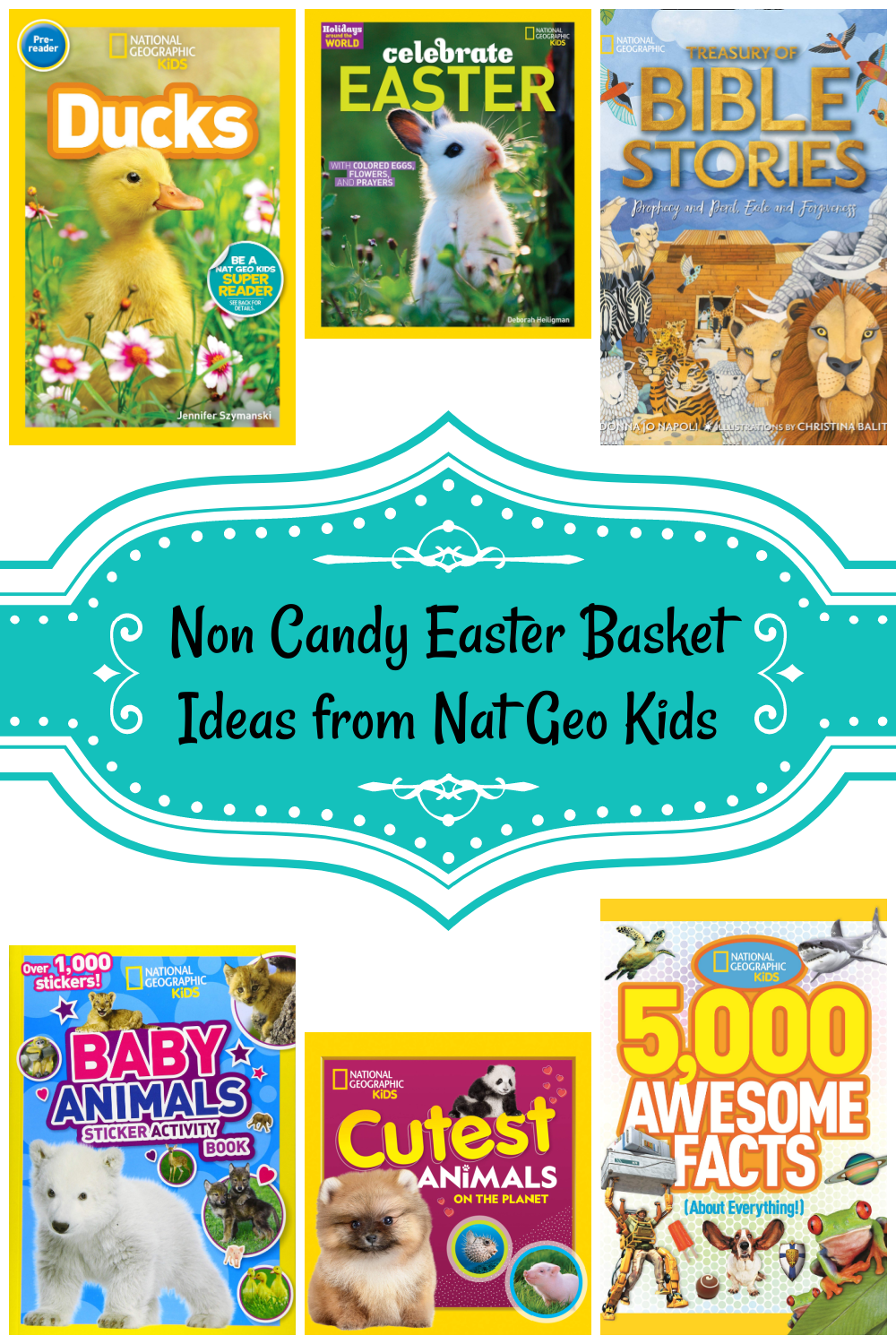 Non Candy Easter Basket Ideas from Nat Geo Kids