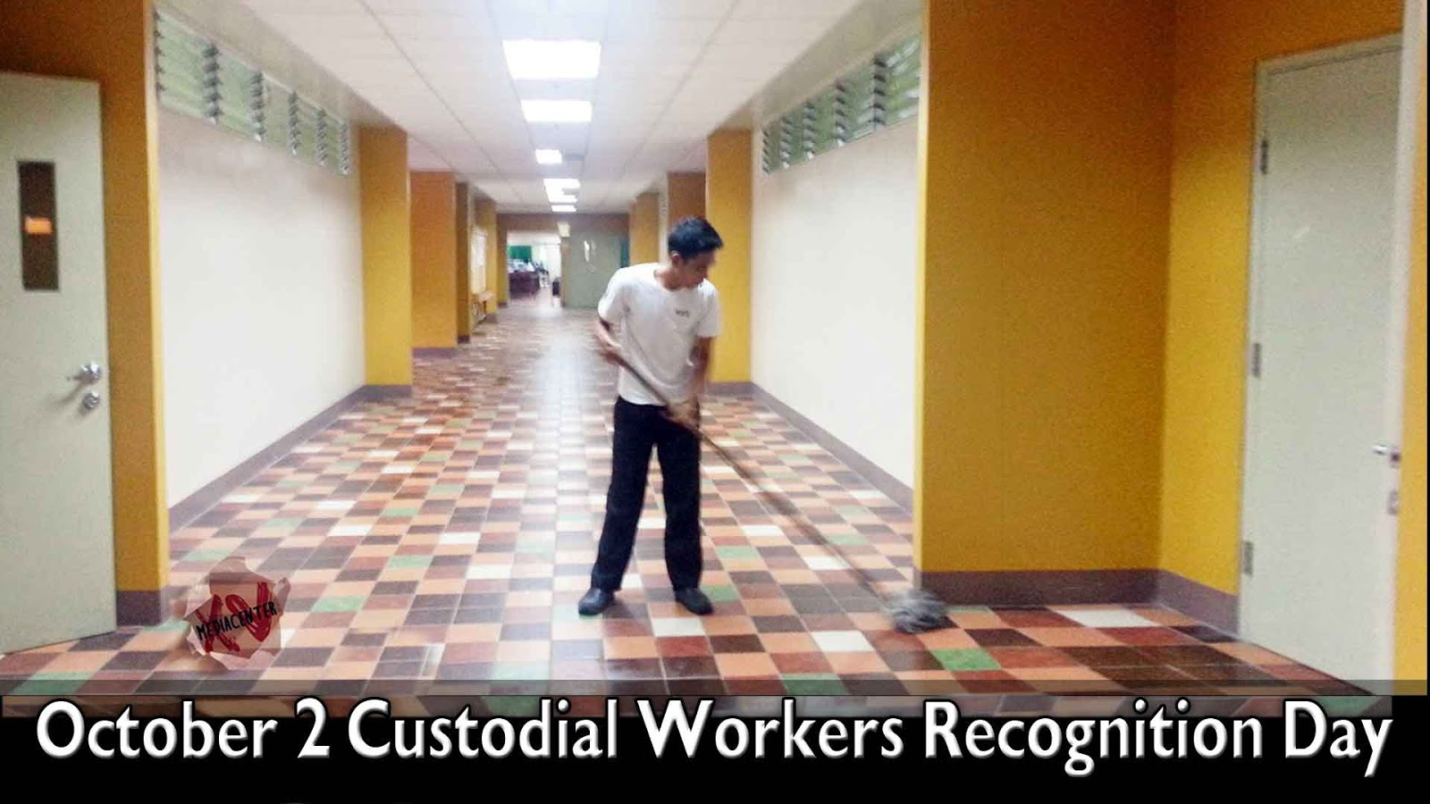 2 custodial workers recognition day today day info