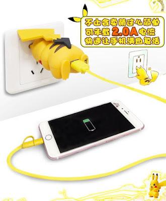Pikachu Smartphone Recharger