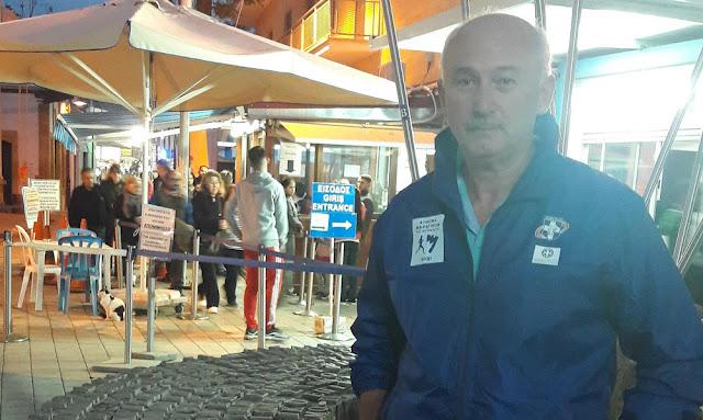 Ο Ναυπλιώτης Γιάννης Μπόλλας υποψήφιος για τον ΣΕΓΑΣ με την Τασούλα Κελεσίδου
