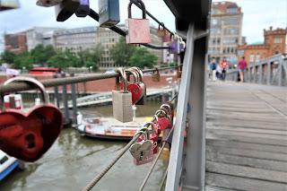 Hamburgo puente candados