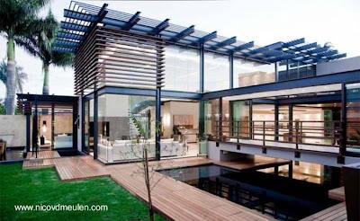 Residencia contemporánea en Sudáfrica