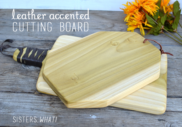 a simple diy cutting board