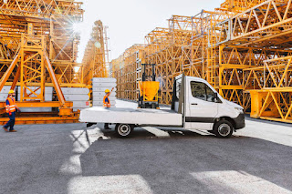 Mercedes-Benz Sprinter Chassis Cab (2019) Side