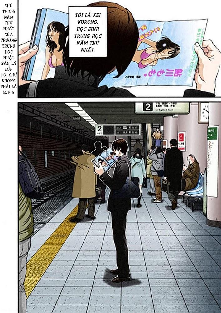 Gantz Chap 01: Tai nạn trang 7