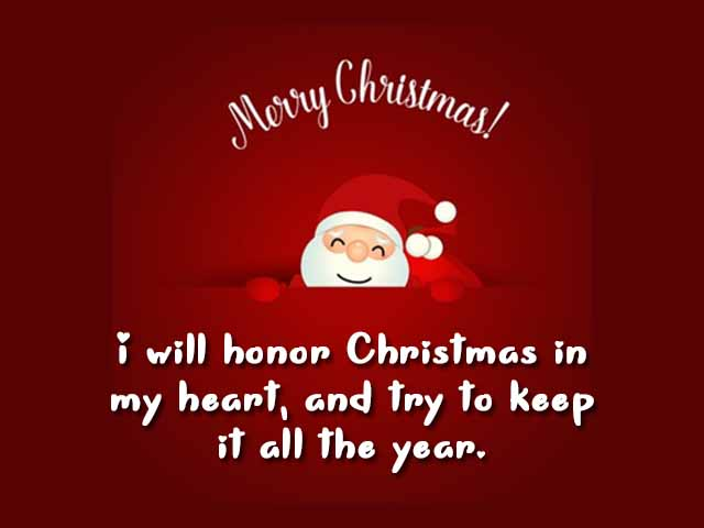 Christmas quotes cards