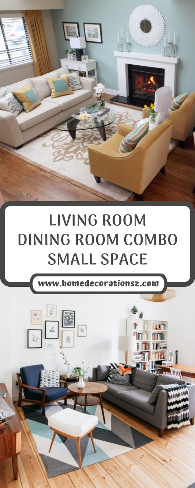 LIVING ROOM DINING ROOM COMBO SMALL SPACE