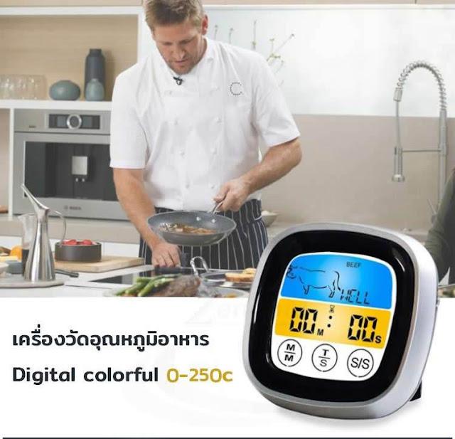 เครื่องวัดอุณหภูมิอาหาร แบบไหน ยี่ห้อไหนดี