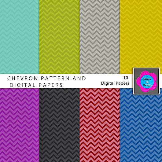 { freebie! } | free photoshop chevron pattern and digital papers