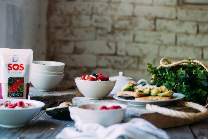 Desayuno con Quinoa