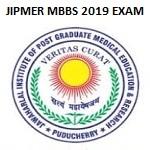 JIPMER MBBS 2019 Entrance Result