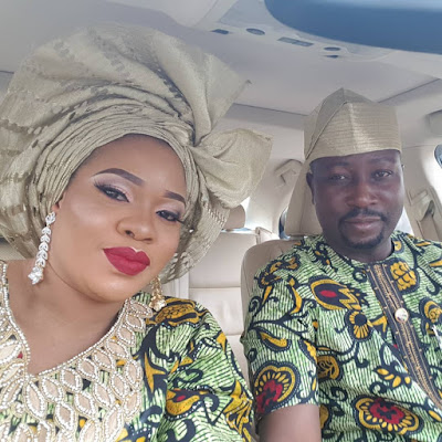 Photos of Mosun Filani and husband Oduoye