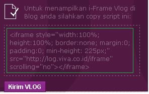 gambar script viva log untuk blog