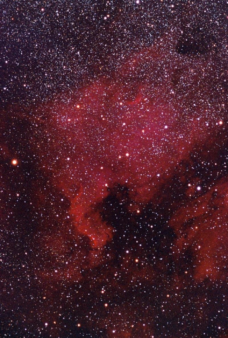NGC 7000 nebulosa de norteamerica