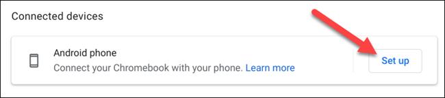 قم بإعداد هاتف android
