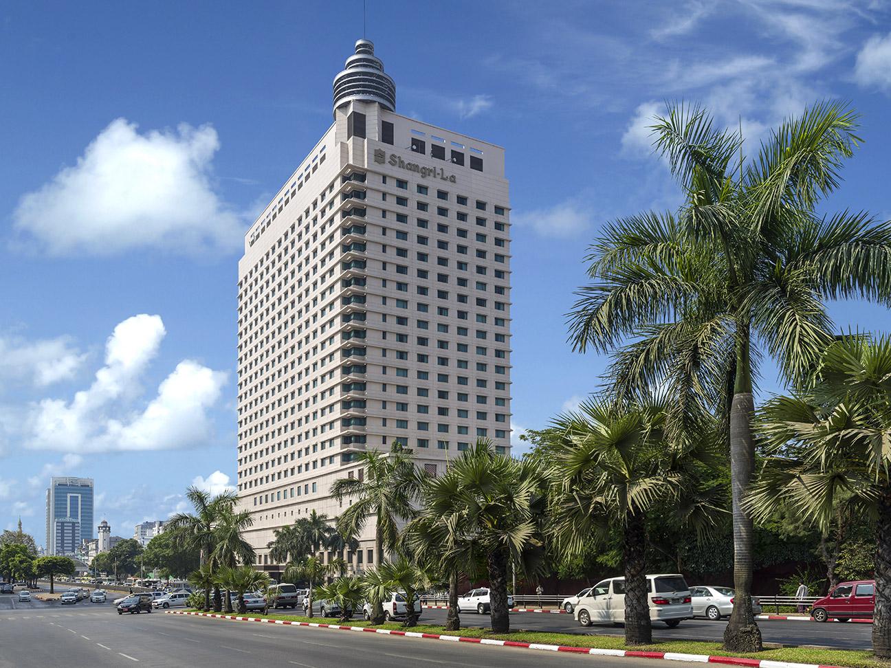 Shangri La Hotel Yangon