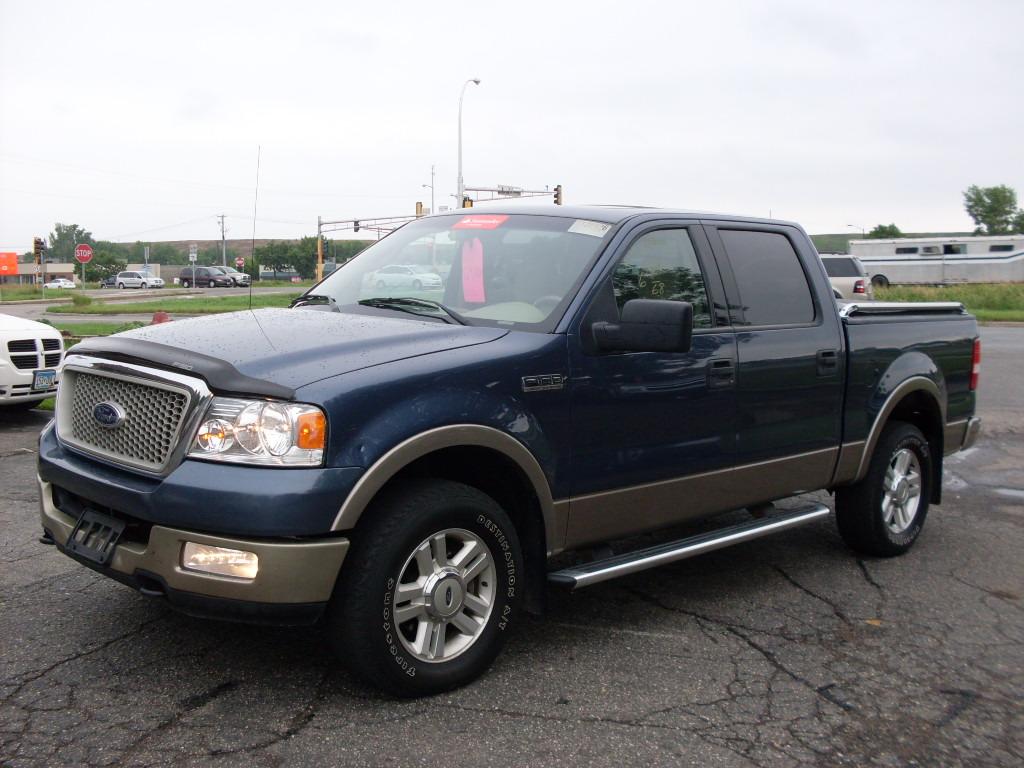 2004 ford f150 blue