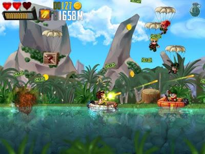 Ramboat: Shoot and Dash v3.1.1 MOD Apk (MOD Uang) Terbaru Free Download Screenshot 2