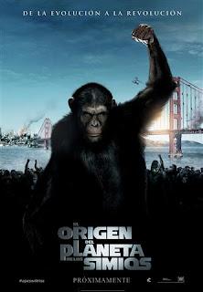Póster de El origen del Planeta de los simios