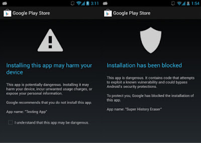 Impresión de pantalla Verify Apss