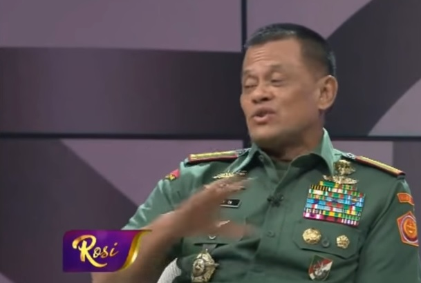"""Ada Pertanyaan """"Jebakan"""", Jawaban Tegas Panglima TNI Disambut Tepuk Tangan"""