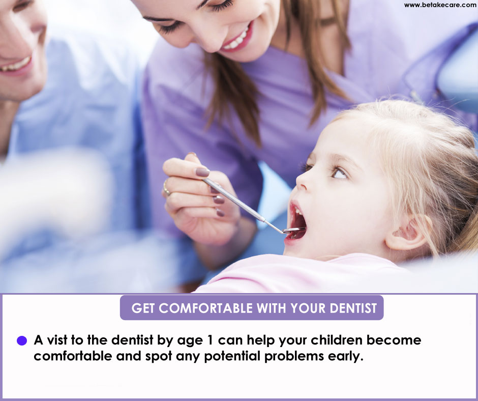 Get Comfortable with your dentist