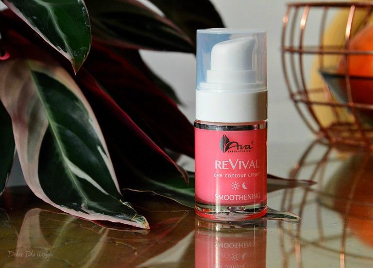 Ava Laboratorium ReVival Wygładzający krem pod oczy recenzja