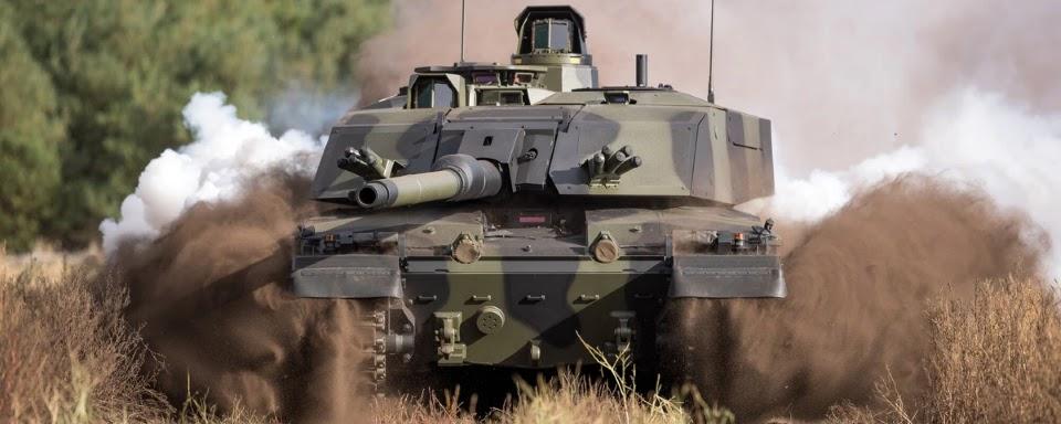 Великобританія витратить 1 млрд доларів на модернізацію танків Challenger 2
