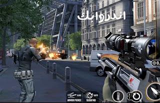 تحميل لعبة Sniper Strike مهكرة