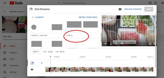 cara naikkan watch hours youtube