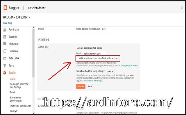 Cara Membuat Subdomain di Blogger