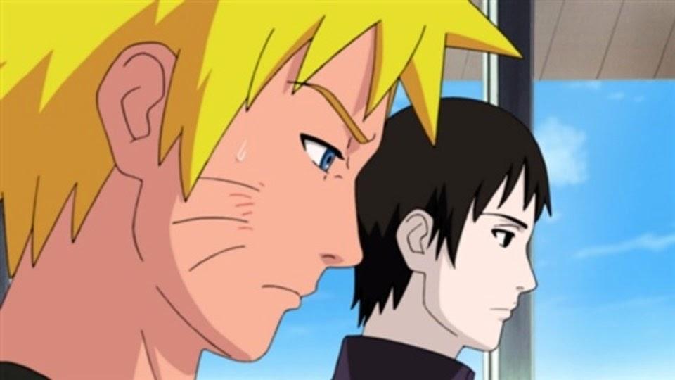 Naruto y Sai