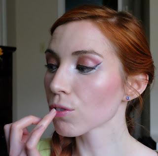 Vapour Organic Beauty Artemis as lipstick