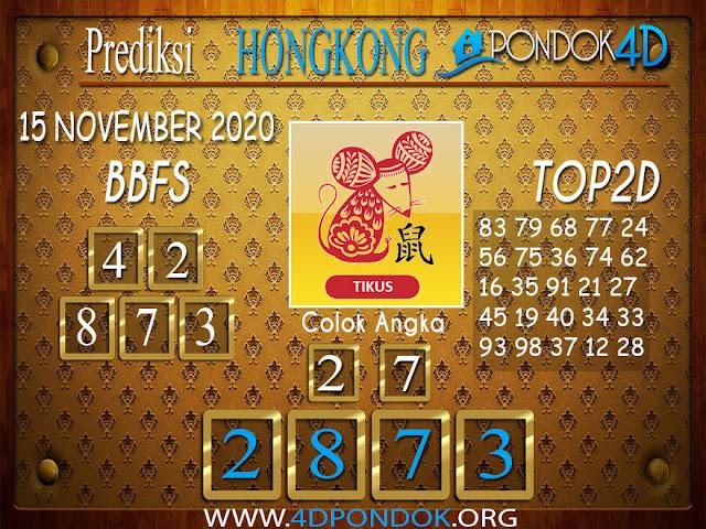 Prediksi Togel HONGKONG PONDOK4D 15 NOVEMBER 2020