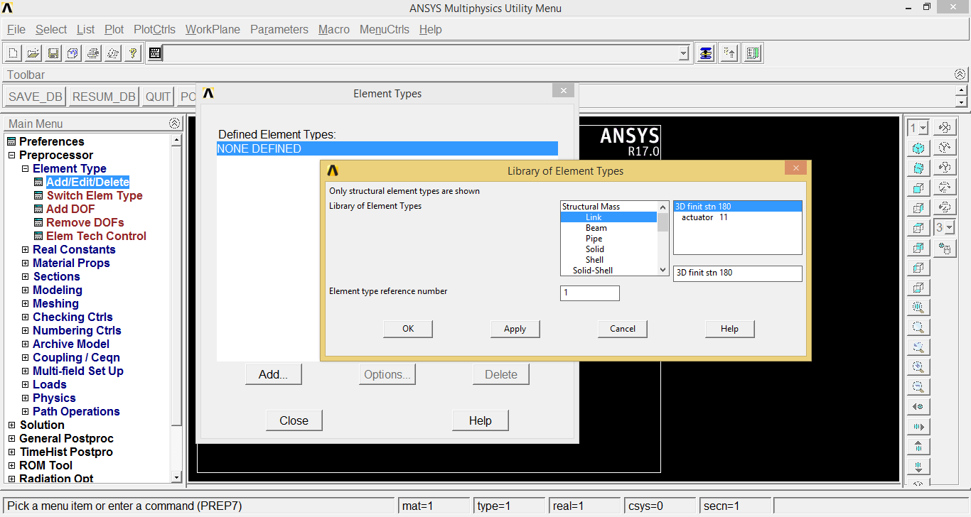 FEA Problem Solution using ANSYS Software