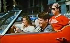 Jelenet a Meglógtam a Ferrarival (1986) című filmből