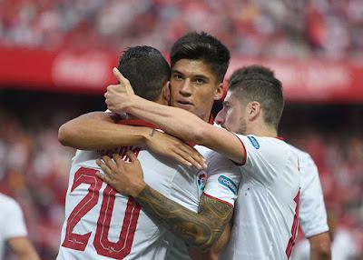 Crónica Sevilla FC 5 - Osasuna 0